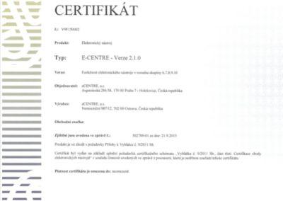 E-CENTRE.2.1.0 - neomezeně